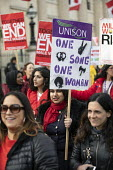 Million Women Rise protest for an end to male violence against women and girls in all its forms , Westminster, London - Jess Hurd - 09-03-2019
