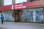 Closed Pound Stretcher shop, high street, Hereford, Herefordshire - Jess Hurd - 04-03-2019