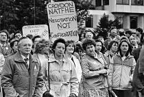 NATFHE protest against education cuts, Croydon College 1983 - NLA - 17-05-1983