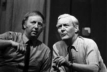 Arthur Scargill (NUM), Tony Benn, 1983, Marx and Sparks, Alexandra Palace, North London - NLA - 25-06-1983