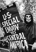 Death, protest at US Embassy, London 1983 against USA intervention in El Salvador and Nicaragua - NLA - 06-07-1983
