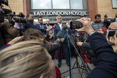 London Mayor Sadiq Khan, faith leaders and politicians condemning Islamophobia after the New Zealand Mosque terrorist attacks, East London Mosque, Tower Hamlets, East London. - Jess Hurd - 2010s,2019,activist,activists,against,Anti Racism,anti racist,attack,attacking,attacks,BAME,BAMEs,Black,BME,bmes,camera,cameras,CAMPAIGNING,CAMPAIGNS,Christchurch shootings,communicating,communication