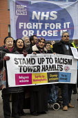 Protest against health charges for migrants and the Hostile Environment policy in the NHS, march from East London Mosque to the Royal London Hospital, Whitechapel, Tower Hamlets, East London - Jess Hurd - 2010s,2019,activist,activists,against,BAME,BAMEs,Black,BME,bmes,CAMPAIGN,Campaigning,CAMPAIGNS,charges,DEMONSTRATING,demonstration,diversity,East London,East London Mosque,Environment,ethnic,ethnicity