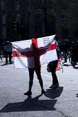 Pro Brexit protests on the day the UK was meant to leave the EU, Westminster, London. Democratic Football Lads Alliance - David Mansell - 2010s,2019,Brexit,campaign,campaigning,CAMPAIGNS,EU,European Union,Far Right,Far Right,FLAG,flags,Football,Leave,London,nationalism,parliament,rightwing,St George's flag,Westminster