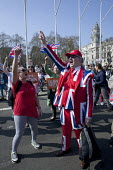 Pro Brexit protests on the day the UK was meant to leave the EU, Parliament Square, Westminster, London - David Mansell - 29-03-2019