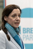 Annunziata Rees-Mogg speaking, Brexit Party launch, Coventry European Parliament elections campaign - John Harris - 2010s,2019,Annunziata Rees-Mogg,Brexit,campaign,campaigning,CAMPAIGNS,candidate,candidates,Coventry,DEMOCRACY,ELECTION,elections,EU,European Union,Far Right,Far Right,FEMALE,launch,Leave,nationalism,P