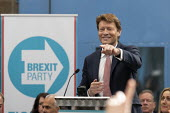 Richard Tice, Brexit Party launch, Coventry European Parliament elections campaign - John Harris - 2010s,2019,Brexit,campaign,campaigning,CAMPAIGNS,Coventry,DEMOCRACY,ELECTION,elections,EU,European Union,Far Right,Far Right,launch,Leave,male,man,men,nationalism,Parliament,Party,people,person,person