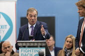 Nigel Farage, Richard Tice, Brexit Party launch, Coventry European Parliament elections campaign - John Harris - 2010s,2019,Brexit,campaign,campaigning,CAMPAIGNS,Coventry,DEMOCRACY,ELECTION,elections,EU,European Union,Far Right,Far Right,launch,Leave,male,man,men,nationalism,Nigel Farage,Parliament,Party,people,