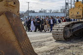 Detroit, Michigan USA Protest After Friday prayers marcheing to the nearby US Ecology plant to oppose a proposed expansion of the hazardous waste facility. The plant is near a low-income, mostly immig... - Jim West - 29-03-2019