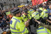 Police arresting Extinction Rebellion climate change campaigners, occupation of Oxford Circus, London - Philip Wolmuth - 18-04-2019