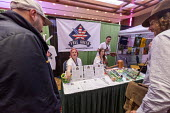 Mt. Pleasant, Michigan, USA, Free Green exhibiting, 420 Canna Expo, a trade show for companies providing goods and services for the medical and recreational marijuana industry. Free Green is a nonprof... - Jim West - 20-04-2019