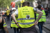 Paris, May Day, Yellow Vest and trade unions protest, International Workers Day, France - Jess Hurd - 01-05-2019