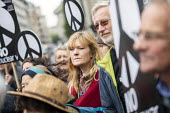 CND Anti nuclear war protest Westminster Abbey, London. 500 people took part in a CND protest and Christian CND vigil outside Westminster Abbey to oppose a thanksgiving service to mark 50 years of Bri... - Jess Hurd - 03-05-2019