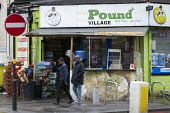 Pound Village corner shop, Sparkbrook, Birmingham - John Harris - 2010s,2019,BAME,BAMEs,Birmingham,Black,BME,bmes,cities,City,diversity,ethnic,ethnicity,excluded,exclusion,HARDSHIP,impoverished,impoverishment,INEQUALITY,Low Income,Marginalised,minorities,minority,ou