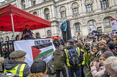 Kevin Courtney NEU speaking National Demonstration for Palestine, London - Jess Hurd - 2010s,2019,activist,activists,against,CAMPAIGNING,CAMPAIGNS,DEMONSTRATING,Demonstration,Gen Sec,Kevin Courtney,London,NEU,Palestine,Palestine Solidarity Campaign,Protest,PROTESTER,PROTESTERS,protestin