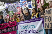 Abortion rights campaigners March for Choice counter the March For Life anti abortion rally, Parliament Square, London - Jess Hurd - 11-05-2019