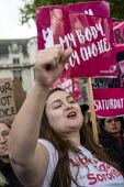 Abortion rights campaigners March for Choice counter the March For Life anti abortion rally, Parliament Square, London - Jess Hurd - 2010s,2019,Abortion,activist,activists,against,anti abortion,CAMPAIGN,campaigners,CAMPAIGNING,CAMPAIGNS,counter,DEMONSTRATING,Demonstration,equal rights,equality,FEMALE,feminism,feminist,feminists,Lon