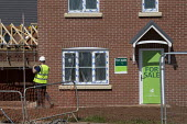 Persimmon housebuilding, Wellesbourne, Warwickshire. Persimmon enjoyed a 31% operating profit margin subsidised by the help-to-buy scheme - John Harris - 12-04-2019