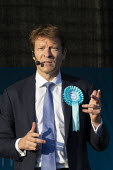 Richard Tice speaking Brexit Party Rally, Merthyr Tydfil, South Wales - John Harris - 2010s,2019,Brexit,Brexit Party,campaign,campaigning,CAMPAIGNS,DEMOCRACY,election,elections,EU,European Parliament election,European Union,far right,far right,Leave,Merthyr,nationalism,nationalist,nati