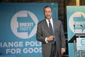 Nigel Farage speaking Brexit Party Rally, Merthyr Tydfil, South Wales - John Harris - 15-05-2019