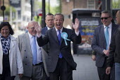 Nigel Farage, Brexit Party, Newcastle Upon Tyne, European parliament elections campaign - Mark Pinder - 20-05-2019