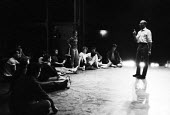 Choreographer Jerome Robbins rehearsing West Side Story, Her Majesty's Theater, London 1958 by Leonard BernsteinChoreographer Jerome Robbins rehearsing West Side Story, Her Majesty's Theater, London 1... - Alan Vines - 27-11-1958