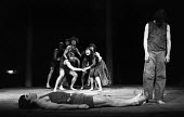 Antigone by the Freehold Theatre company, Round House Chalk Farm London 1969 directed by Nancy MecklerAntigone by the Freehold Theatre company, Round House Chalk Farm London 1969 directed by Nancy Mec... - Bente Fasmer - 1960s,1969,ACE,act,acting,actor,actors,actress,actresses,alternative theatre,Antigone,Arts,Chalk,Classical Play,company,culture,entertainment,Farm,Freehold Theatre,House,houses,London,Nancy Meckler,pl