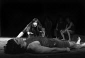 Antigone by the Freehold Theatre company, Round House Chalk Farm London 1969 directed by Nancy Meckler. Dinah StabbAntigone by the Freehold Theatre company, Round House Chalk Farm London 1969 directed... - Bente Fasmer - 1960s,1969,ACE,act,acting,actor,actors,actress,actresses,Antigone,Arts,Chalk,Classical Play,company,culture,Dinah Stabb,entertainment,Farm,Freehold Theatre,House,houses,London,Nancy Meckler,play,PLAYI