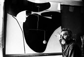 Artist Victor Pasmore working in his London studio 1965Artist Victor Pasmore working in his London studio 1965Artist Victor Pasmore working in his London studio 1965Artist Victor Pasmore working in hi... - Romano Cagnoni - 1960s,1965,abstract,ACE,art,artist,artists,arts,artwork,artworks,Constructivism,culture,London,mobile,mobiles,modern,modernism,modernist,modernists,painter,painters,studio,STUDIOS,Victore Pasmore,work