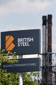 British Steel Scunthorpe. Greybull Capital has put British Steel into receivership. Lincolnshire - John Harris - 2010s,2019,Air Pollution,bankrupt,bankruptcy,Capital,capitalism,chimney,chimneys,communicating,communication,EBF,Economic,Economy,factory,Industries,industry,Job Losses,jobs,Lincolnshire,liquidated,li