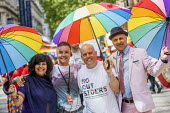 Andrew Moffat, assistant head teacher at Parkfield Community School and pioneer of the No Outsiders programme leading the Birmingham Gay Pride Parade with LGBT+ Muslim campaigners - Jess Hurd - 25-05-2019