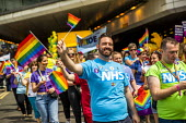 NHS staff, Birmingham Gay Pride. - Jess Hurd - 2010s,2019,ACE,activist,activists,against,Birmingham,Birmingham Gay Pride 2019,CAMPAIGNING,CAMPAIGNS,color,colorful,colorfull,colors,colour,colourful,colours,Culture,DEMONSTRATING,demonstration,equal,