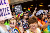 Parents and teachers supporting inclusion and equality, Birmingham Gay Pride - Jess Hurd - 25-05-2019