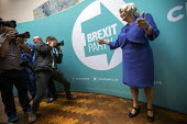Ann Widdecombe, Brexit Party victory press conference, European Elections, London - Jess Hurd - 27-05-2019