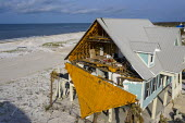 Mexico Beach, Florida, USA: destruction from Hurricane Michael 7 months after the storm hit the Florida Panhandle - Jim West - 14-09-2017
