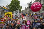 Together Against Trump, stop the state visit protest against Donald Trump, Trafalgar Square, London - Jess Hurd - 04-06-2019