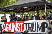 Jeremy Corbyn speaking Together Against Trump, stop the state visit protest against Donald Trump, London - Jess Hurd - 04-06-2019