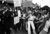 Imperial Typewriters Strike for equal pay, protest, Leicester 1974. Imperial Typewriters has a predominantly Asian workforceImperial Typewriters Strike for equal pay, protest, Leicester 1974. Imperial... - John Sturrock - 1970s,1974,activist,activists,against,Asian,Asians,BAME,BAMEs,Black,BME,bmes,CAMPAIGN,campaigner,campaigners,CAMPAIGNING,CAMPAIGNS,DEMONSTRATING,demonstration,DEMONSTRATIONS,disputes,diversity,Equal P
