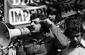 Tariq Ali speaking, Imperial Typewriters Strike for equal pay protest, Leicester 1974. Imperial Typewriters has a predominantly Asian workforceTariq Ali speaking, Imperial Typewriters Strike for equal... - John Sturrock - International Marxist Group,1970s,1974,activist,activists,against,Asian,Asians,BAME,BAMEs,banner,banners,Black,BME,bmes,CAMPAIGN,campaigner,campaigners,CAMPAIGNING,CAMPAIGNS,DEMONSTRATING,Demonstratio