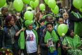 Grenfell fire 2nd anniversary memorial procession from St Helen's Church, Kensington, London - Jess Hurd - 2010s,2019,2nd anniversary,activist,activists,against,anniversary,balloon,balloons,BAME,BAMEs,Black,BME,bmes,CAMPAIGN,campaigner,campaigners,CAMPAIGNING,CAMPAIGNS,child,CHILDHOOD,children,Church,churc