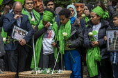 Grenfell fire 2nd anniversary memorial procession from St Helen's Church, Kensington, London - Jess Hurd - 14-06-2019