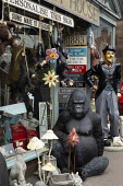 Housey House, antiques and gifts, Leek, Staffordshire - John Harris - 2010s,2019,animal,animals,antique,antiques,ape,apes,artwork,bric a brac,charlie chaplin,collectable,collecting,collection,EBF,Economic,Economy,figure,figures,gorilla,gorillas,House,houses,kitsch,old,o