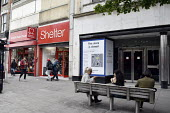 High Street store closures. Marks and Spencers store on Holloway Road north London closed whilst neighbouring Charity shops Shelter and British Heart Foundation remain open.High Street store closures.... - Stefano Cagnoni - 19-06-2019