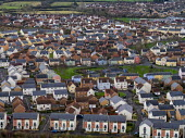 View of new housing, Portishead, Bristol - Paul Box - 2010s,2019,Aerial,Aerial View,EBF,Economic,Economy,from the air,house,houses,housing,Housing Estate,housing Market,housing stock,newbuild,Wales,Welsh