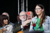 Jeremy Corbyn, Laura Pidcock MP 2019 Durham Miners Gala - Mark Pinder - 2010s,2019,DMA,Durham Miners Gala,FEMALE,Jeremy Corbyn,Labour Party,male,man,member,member members,members,men,MINER,Miners,MINER'S,MP,MPs,NUM,people,person,persons,POL,political,politician,politician