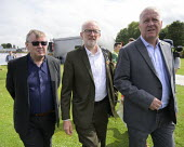 Ian Mearns, Jeremy Corbyn, Ian Lavery, 2019 Durham Miners Gala - Mark Pinder - 2010s,2019,DMA,Durham Miners Gala,Ian Lavery,Jeremy Corbyn,Labour Party,male,man,member,member members,members,men,MINER,Miners,MINER'S,MP,MPs,NUM,people,person,persons,POL,political,politician,politi