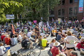 Extinction Rebellion protest, Bristol - Paul Box - 2010s,2019,activist,activists,against,CAMPAIGNING,CAMPAIGNS,DEMONSTRATING,Demonstration,environment,environmental,Extinction Rebellion,FEMALE,people,person,persons,Protest,PROTESTER,PROTESTERS,protest