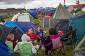 Tolpuddle Martyrs Festival, Dorset. - Jess Hurd - 2010s,2019,camp,camping,Camping Site,camps,campsite,communicating,communication,conversation,conversations,dialogue,discourse,discuss,discusses,discussing,discussion,Dorset,Festival,FESTIVALS,member,m