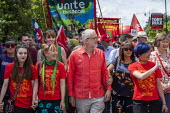 Jeremy Corbyn at Tolpuddle Martyrs Festival, Dorset. - Jess Hurd - 2010s,2019,banner,banners,Dorset,Festival,FESTIVALS,Jeremy Corbyn,Labour Party,member,member members,members,MP,MPs,people,person,persons,politician,politicians,procession,Tolpuddle Martyrs Festival,T
