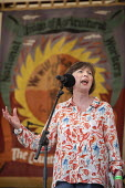 Frances O'Grady, TUC, Tolpuddle Martyrs Festival, Dorset - Jess Hurd - 2010s,2019,banner,banners,Dorset,FEMALE,Festival,FESTIVALS,Frances O'Grady,Gen Sec,member,member members,members,PEOPLE,person,persons,SPEAKER,SPEAKERS,speaking,SPEECH,Tolpuddle Martyrs Festival,Tolpu